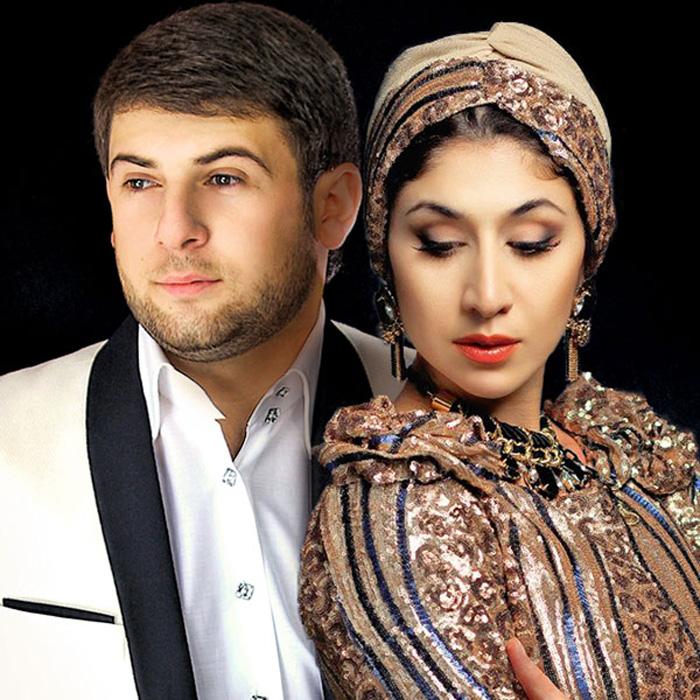 Азамат Биштов и Анжелика Начесова