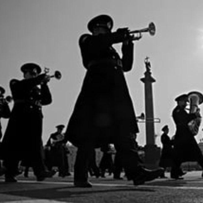 Военно-духовой оркестр п/у И. В. Петрова - Прощание славянки